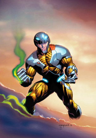X-O Manowar #1 Pullbox Exclusive Variant by Cary Nord