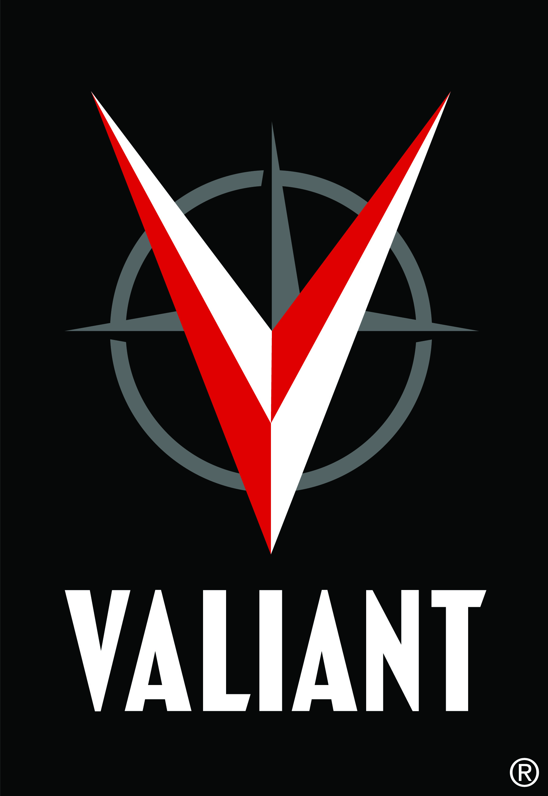 valiant logo red