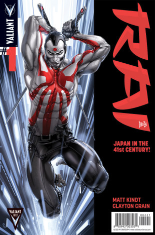 Rai #1 (Pullbox Plus Variant)