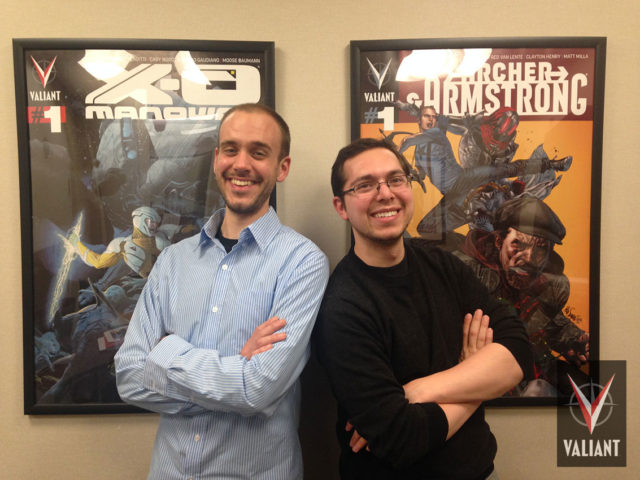 Pictured: Valiant Sales Managers Andy Liegl (left) and Matthew Klein (right)