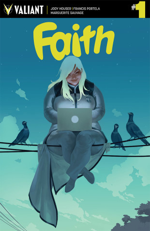 faith comic book cover
