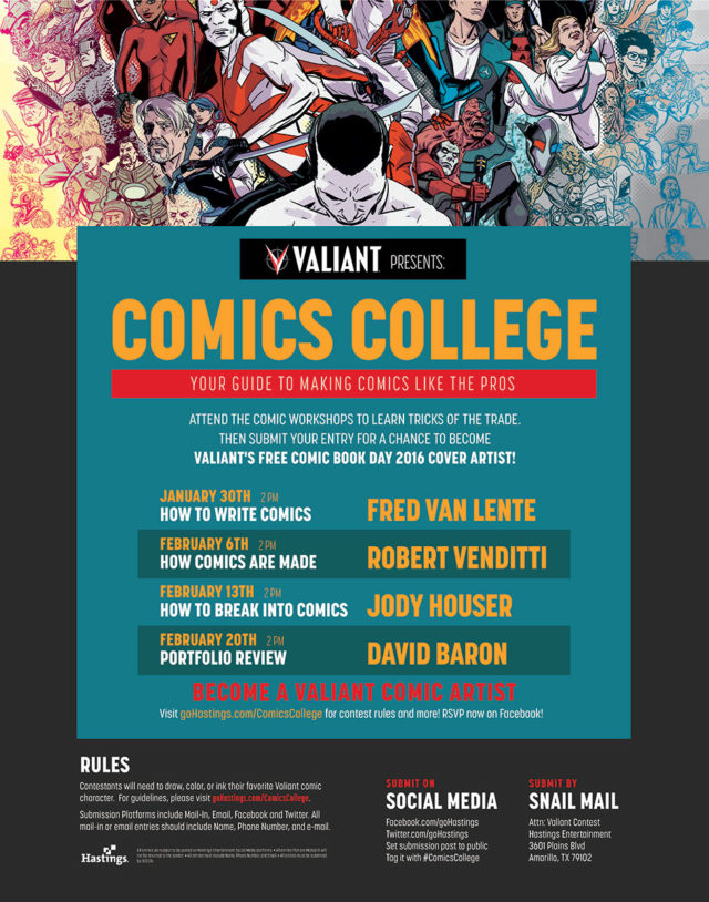 VALIANT_COMICS COLLEGE